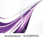 abstract shiny colorful... | Shutterstock .eps vector #412289935