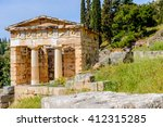 Athenian Treasury In Delphi  A...