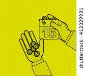 tax time design  | Shutterstock .eps vector #412329931