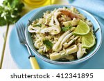 Calamari Salad With Wild And...