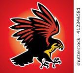 Hawk Bird Mascot