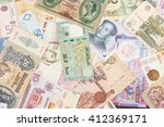 collection from different money ... | Shutterstock . vector #412369171