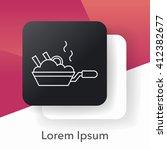 pot line icon   Shutterstock .eps vector #412382677