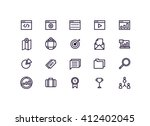 seo icons vector.