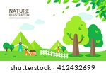 nature illustration | Shutterstock .eps vector #412432699