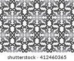 vintage acanthus leaves pattern ... | Shutterstock .eps vector #412460365
