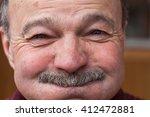 Elderly Man Barely Holding Bac...