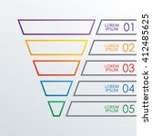 Funnel Outline Infographics...