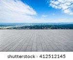 power generation wind power... | Shutterstock . vector #412512145