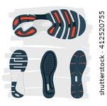 Shoes Sole. Vector Imprint...