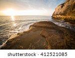 sunrise. spain. majorca.  | Shutterstock . vector #412521085