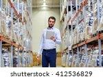 wholesale  logistic  business ...   Shutterstock . vector #412536829