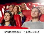 cinema  entertainment and... | Shutterstock . vector #412538515