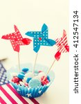 american independence day ... | Shutterstock . vector #412547134