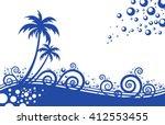 wallpaper background beautiful...   Shutterstock .eps vector #412553455