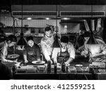 bangkok  thailand   january 16  ... | Shutterstock . vector #412559251