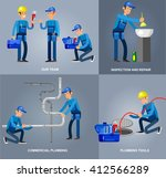detailed character proffesional ... | Shutterstock .eps vector #412566289