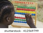learning to count  hope for... | Shutterstock . vector #412569799