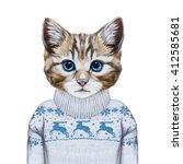Animals As A Human. Portrait O...