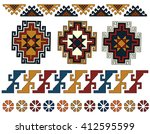 Set Of Armenian Ornaments