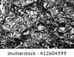 Crumpled Silver Gray Background