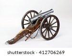 Model Of A 1863 Dahlgren Cannon.