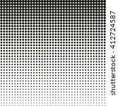 halftone  dots.halftone effect. ... | Shutterstock .eps vector #412724587