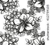 abstract elegance seamless... | Shutterstock .eps vector #412759105