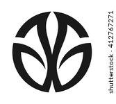 letter g and g logo vector. | Shutterstock .eps vector #412767271