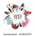 cosmetic product  element... | Shutterstock . vector #412810375