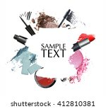 cosmetic product  promotion... | Shutterstock . vector #412810381