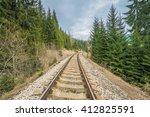 chmarossky stone viaduct... | Shutterstock . vector #412825591