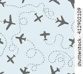 seamless pattern   doodle... | Shutterstock .eps vector #412902109