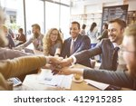 business people collaboration... | Shutterstock . vector #412915285