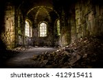 Abandoned Church Interior Wher...