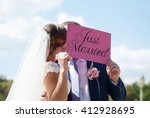 Just Married Happy Couple....
