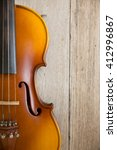 violin unplugged music... | Shutterstock . vector #412996867