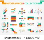 business and social... | Shutterstock .eps vector #413009749