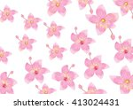 pink flowers for background