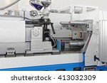 injection molding machine for... | Shutterstock . vector #413032309