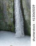 ice drops frozen  freezing... | Shutterstock . vector #413065039