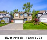 a very neat and colorful home... | Shutterstock . vector #413066335