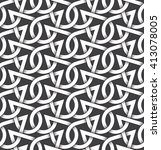 abstract repeatable pattern... | Shutterstock .eps vector #413078005