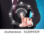 consulting technology... | Shutterstock . vector #413094529