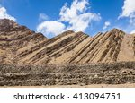 Folded Mountain Formation In...