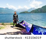 pianello del lario  italy   may ... | Shutterstock . vector #413106019