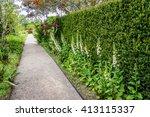 Beautiful English Style Garden...