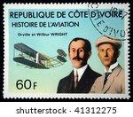 cote d'ivoire   circa 1971  a... | Shutterstock . vector #41312275