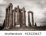 The Temple Of Olympian Zeus In...