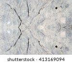 crack wood texture background | Shutterstock . vector #413169094